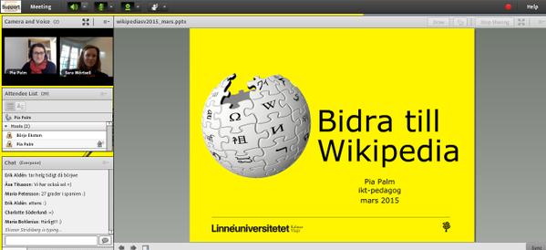 webinar linköpingsuniversitet 12 mars 2015