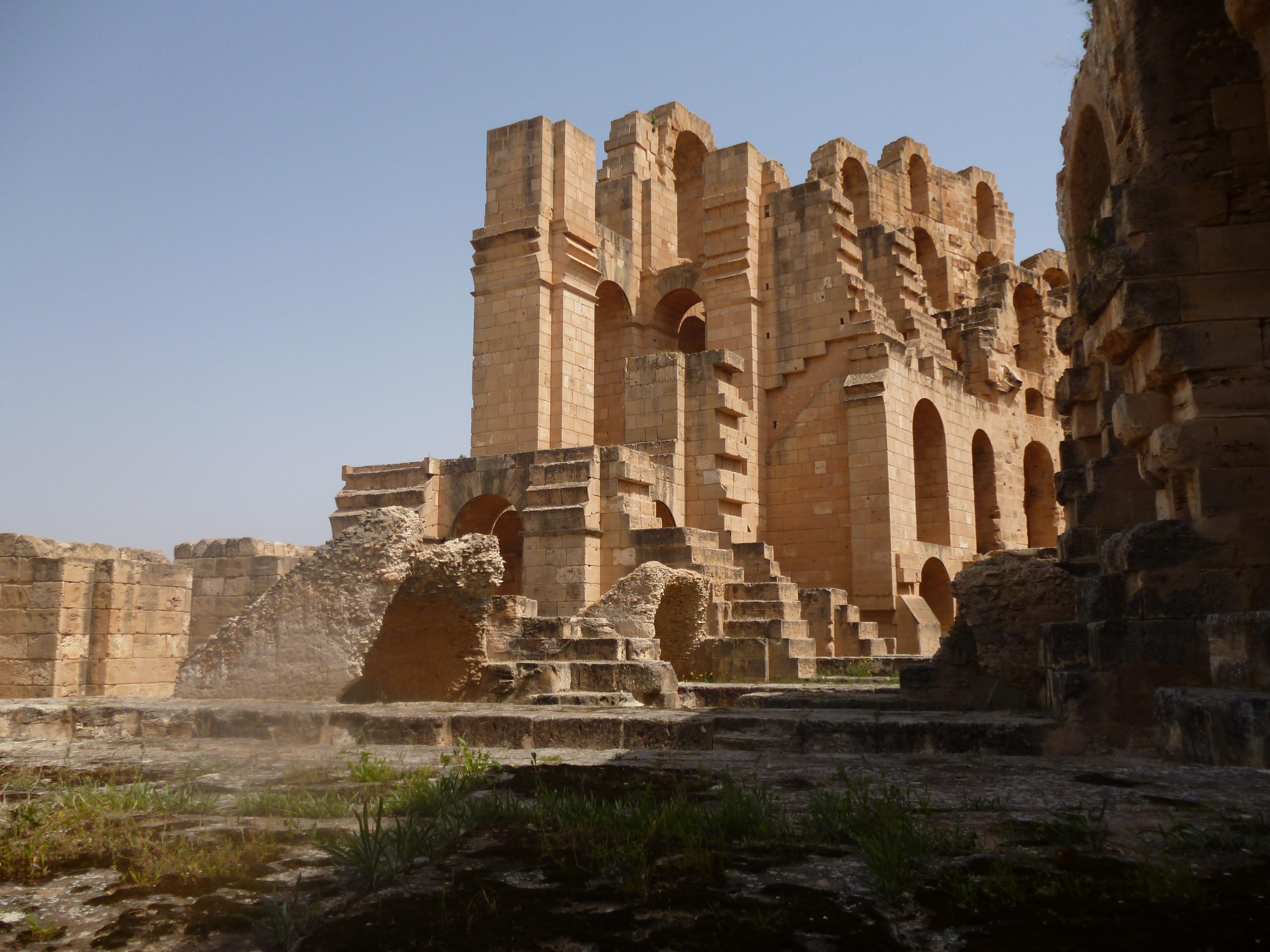 Amphithéâtre d''El Jem (Tunisie)