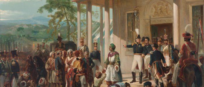 Målning av Nicolaas Pieneman