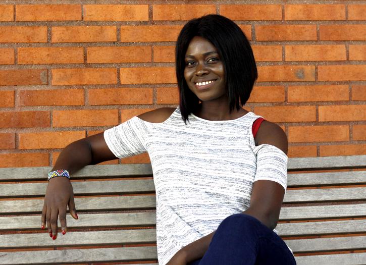 Läs en intervju med Joy Agyepong