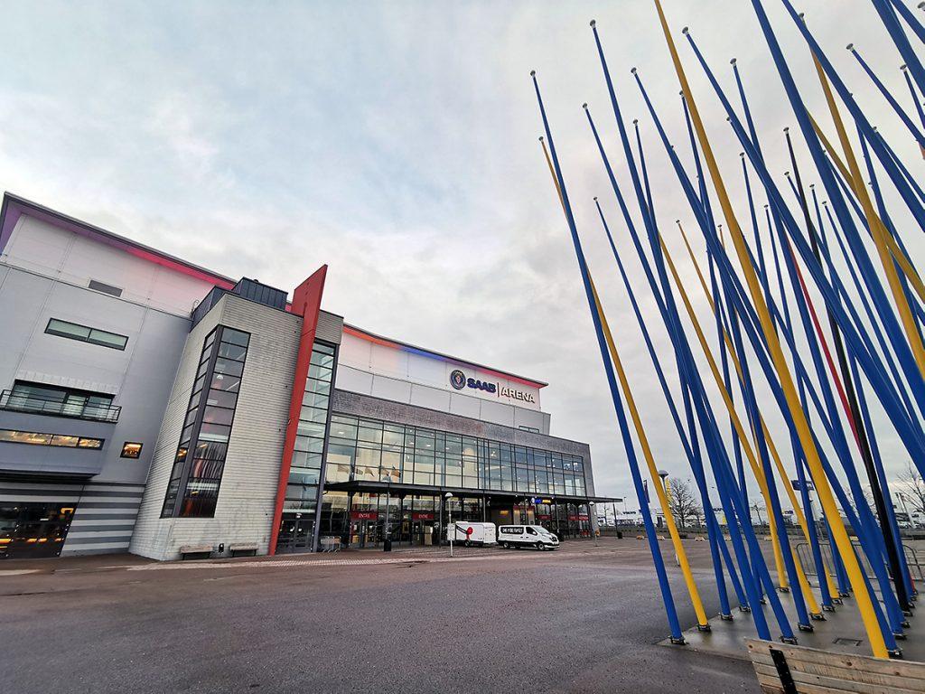 Saab arena, Linköping.